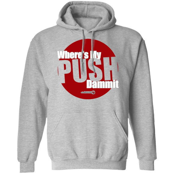 Need Push Pullover Hoodie
