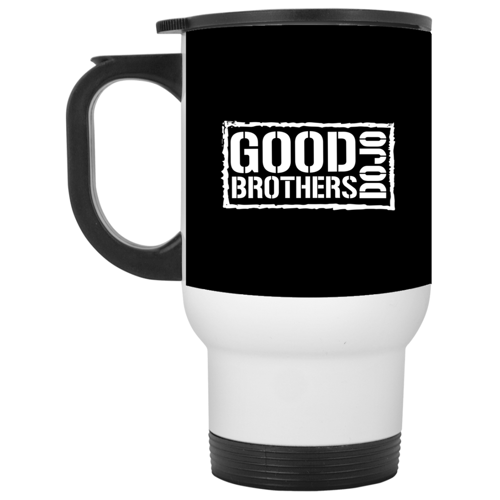 Good Brothers Dojo White Travel Mug