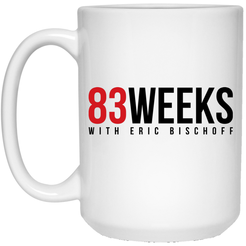 83 Weeks White Mug