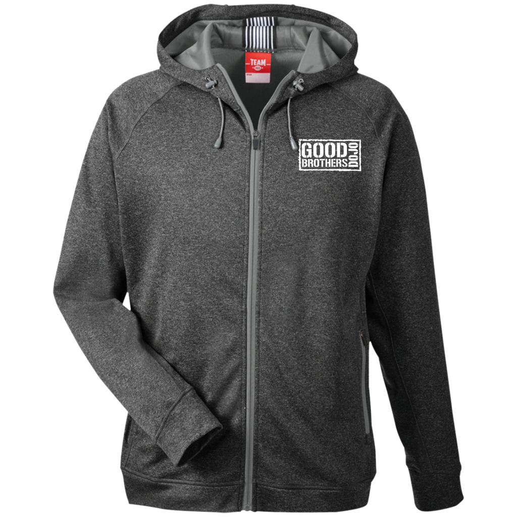 Good Brothers Dojo Men's Heathered Performance Hooded Jacket