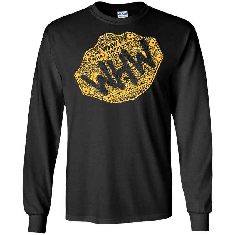 Big Gold Long Sleeve T-Shirt