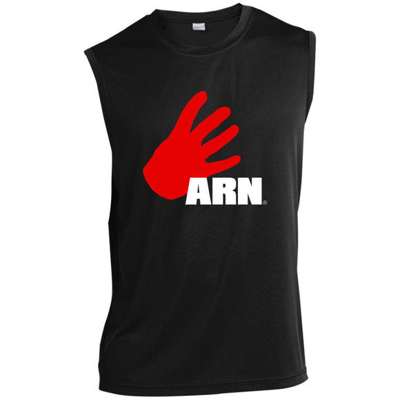 Arn Logo Sleeveless Performance T-Shirt