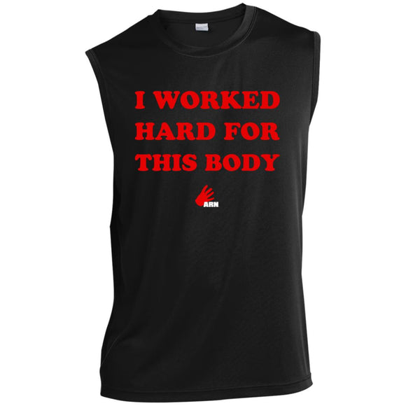 Hard Body Sleeveless Performance T-Shirt