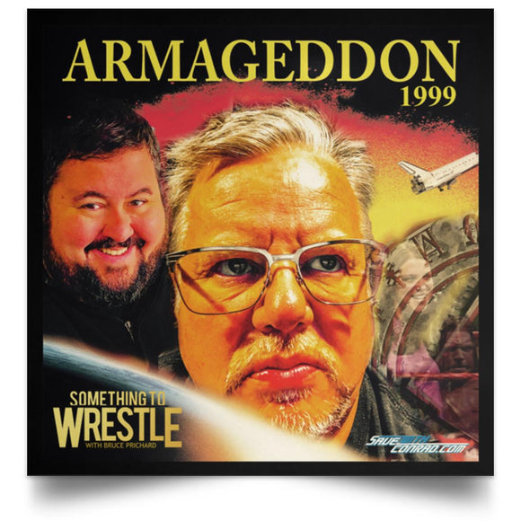 STWW Ep. 191 Armageddon '99 Square Poster