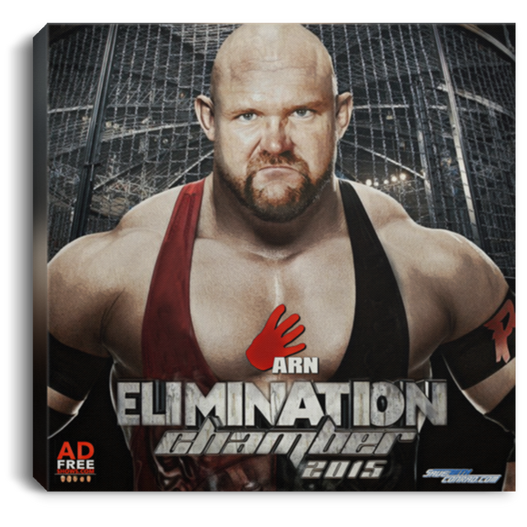 Elimination Chamber 2015 Square Canvas