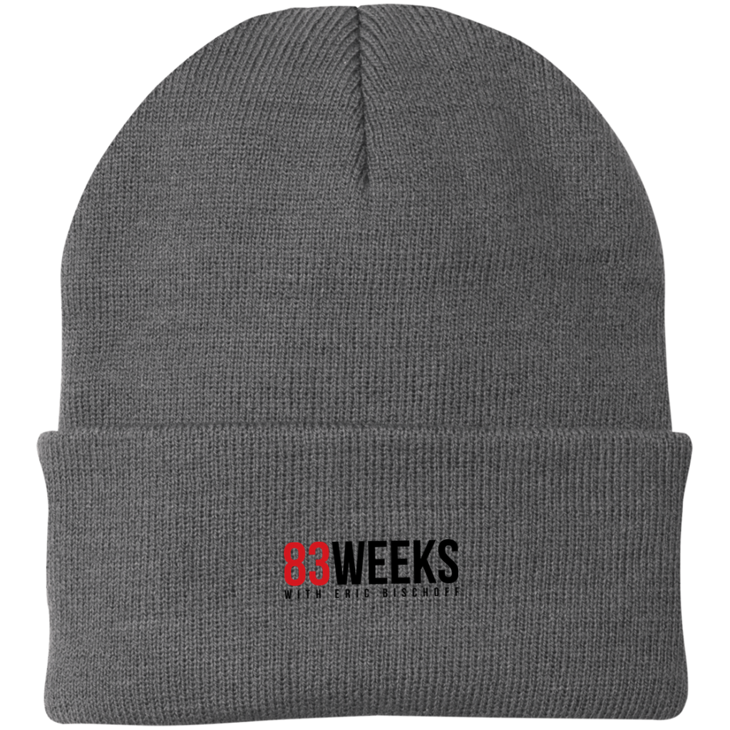83 Weeks Port Authority Knit Cap