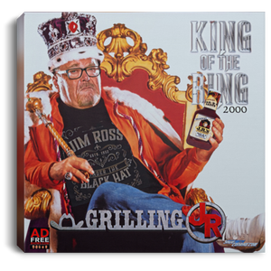 King of the Ring 2000 Square Canvas