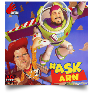Ask Arn #20 Satin Square Poster