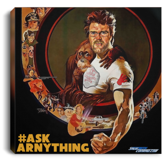 Ask ARN Anything 1 Square Canvas