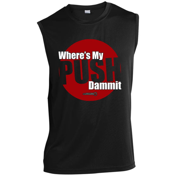 Need My Push Sleeveless Performance T-Shirt