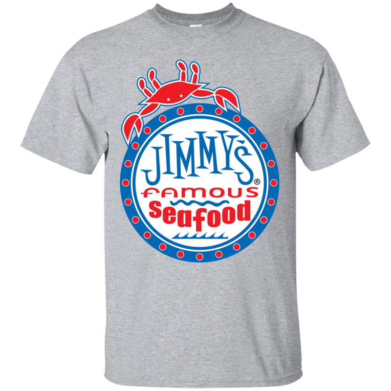 Jimmy's Famous Seafood Logo T-Shirt