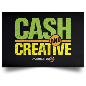 Cash and Creative Poster