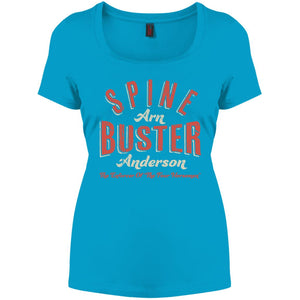 Spine Buster Perfect Scoop Neck Tee