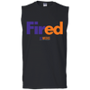 Fired Sleeveless T-Shirt