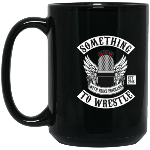 STWW Patch 15 oz. Black Mug