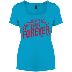 STW Lives Forever Perfect Scoop Neck Tee