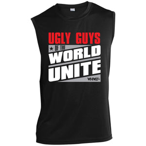 Ugly Guys Unite Sleeveless Performance T-Shirt