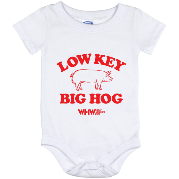 Low Key Big Hog Baby Onesie 12 Month