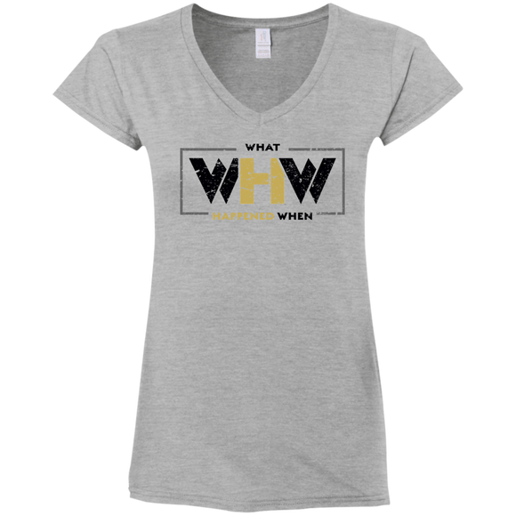 WHW Elite Ladies' Fitted V-Neck T-Shirt