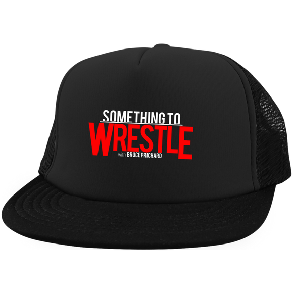 Something To Wrestle Trucker Hat with Snapback
