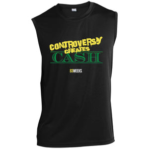 Controversy Creates Cash Sleeveless Performance T-Shirt