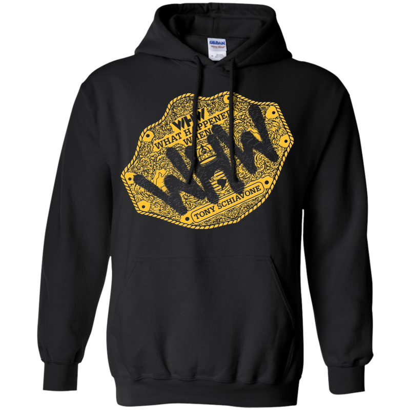 Big Gold Pullover Hoodie