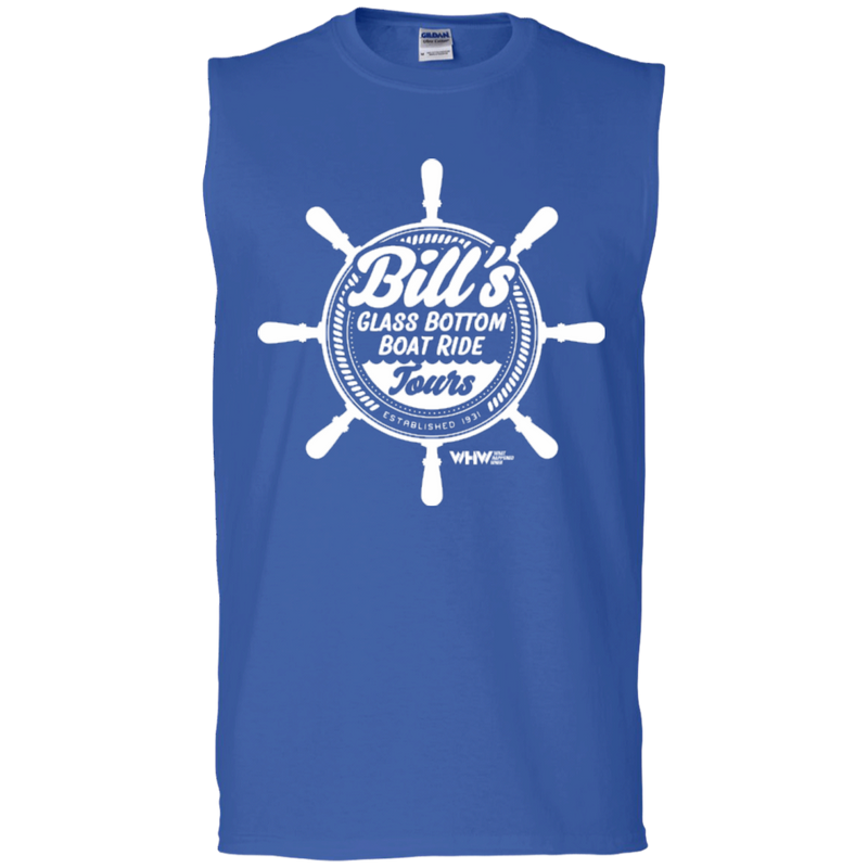 Glass Bottom Boat Ride Sleeveless T-Shirt