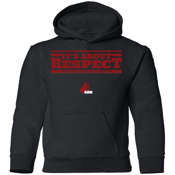 It's About Respect Youth Pullover Hoodie