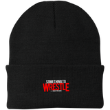 Something To Wrestle Knit Cap