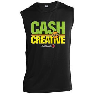 Cask & Creative Sleeveless Performance T-Shirt