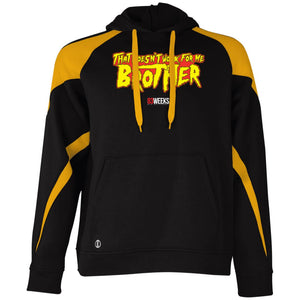 Doesn't Work For Me Brother Colorblock Hoodie