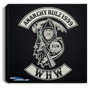 WHW Episode Anarchy Rulz 1999  Square Canvas