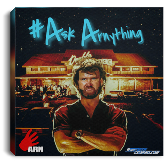 Ask ARN Anything 3 Square Canvas