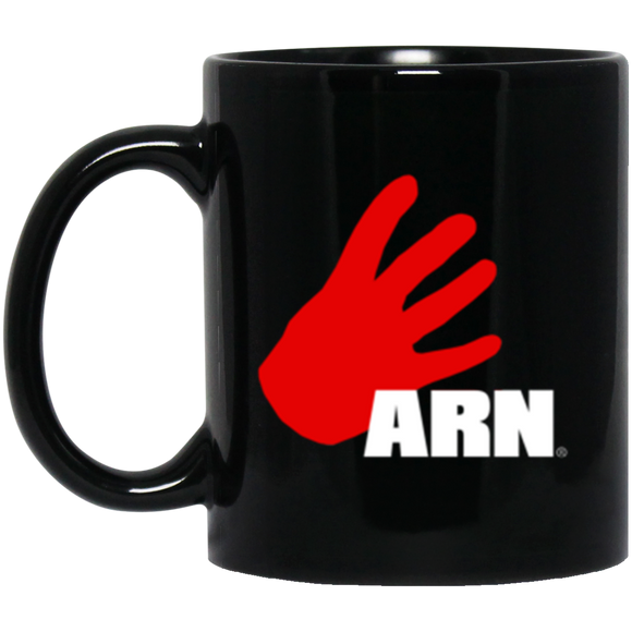Arn Logo 11 oz. Black Mug