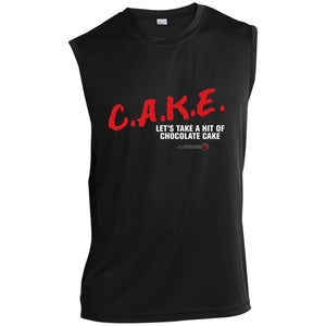 Chocolate Cake Sleeveless Performance T-Shirt