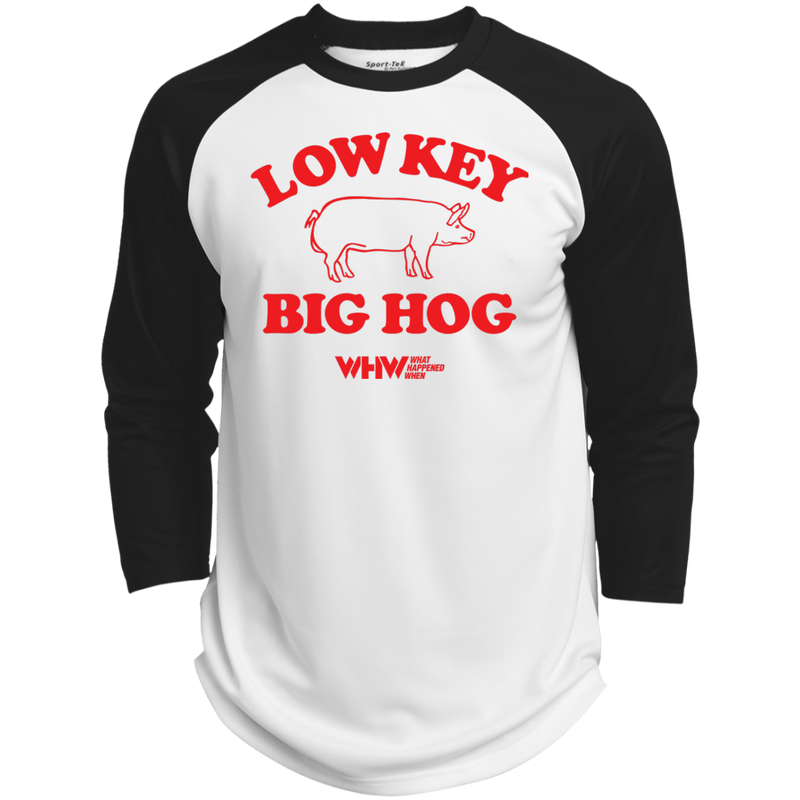 Low Key Big Hog Polyester Game Baseball Jersey