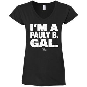 Pauly B. Gal Ladies' Fitted V-Neck T-Shirt