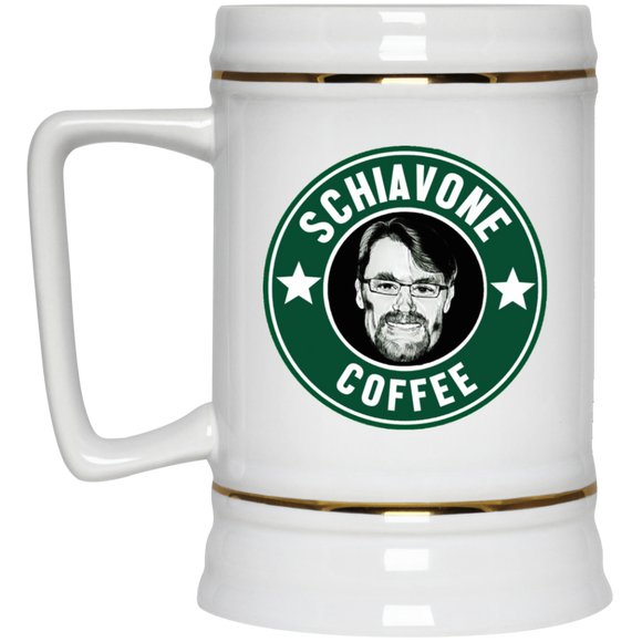 Schiavone Coffee Beer Stein 22oz.