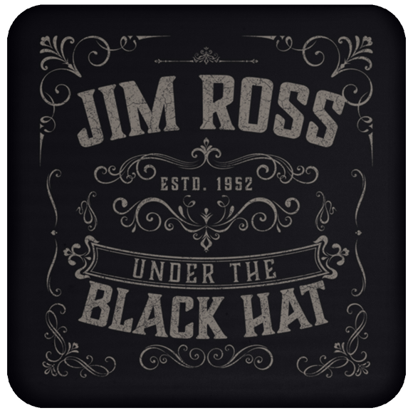 Under The Black Hat Coaster