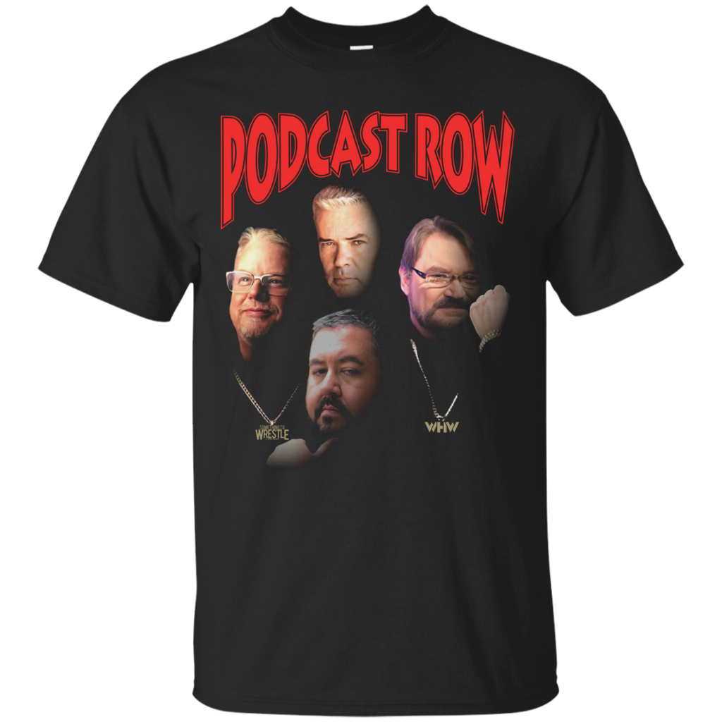 Podcast Row T-Shirt