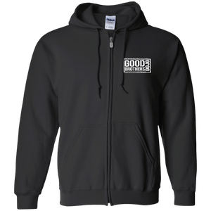 Good Brothers Dojo  Zip Up Hooded Sweatshirt