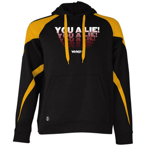 You A Lie Colorblock Hoodie