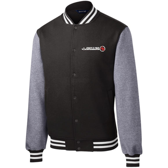 Grilling JR Fleece Letterman Jacket