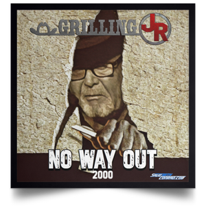 No Way Out 2000 Satin Square Poster
