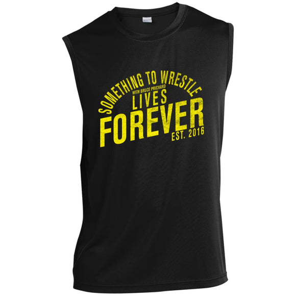 STW Lives Forever (Yellow) Sleeveless Performance T-Shirt