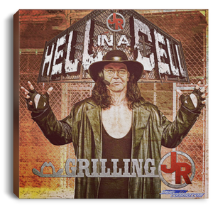 Hell In The Cell Show Art Square Canvas