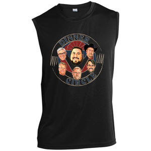 Dinner Circle Sleeveless Performance T-Shirt