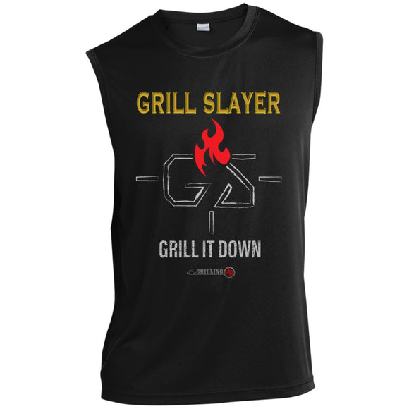 Grill Slayer Sleeveless Performance T-Shirt