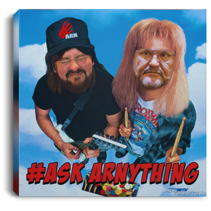 Ask ARN Anything 2 Square Canvas