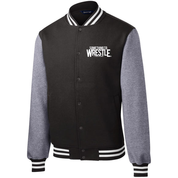 STW Logo Fleece Letterman Jacket